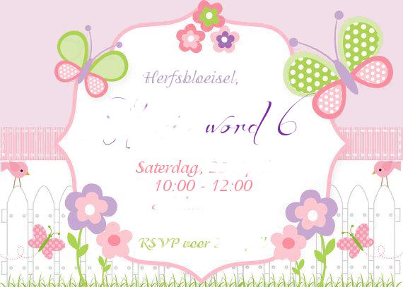 6 Uitnodiging