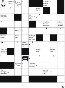 Crosswords p50