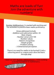 Number Addventure 1 ebook agterblad