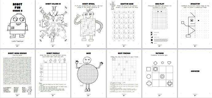 Robot fun 2 examples